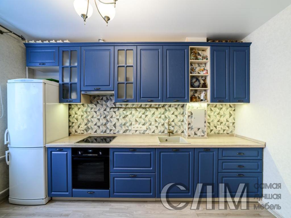 кухня ультрамарин